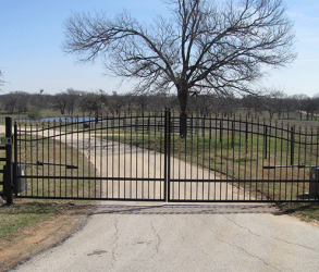 Dual Swing Country Entrance Gates