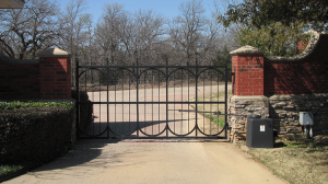 Single-swing-entry-gate