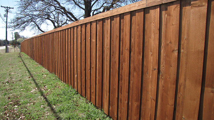 6' Privacy Wood Fence